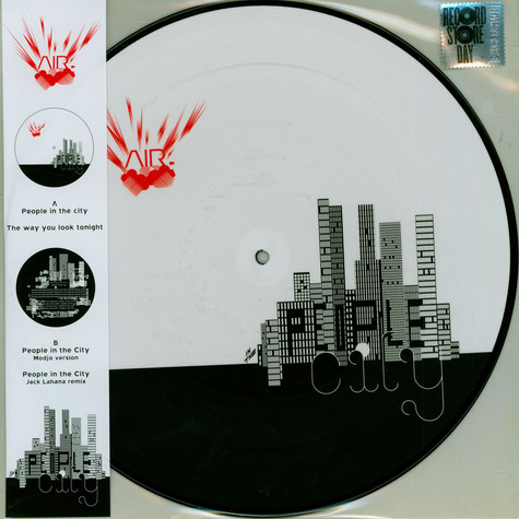 AIR - People In The City Picture Disc Record Store Day 2021 Edition