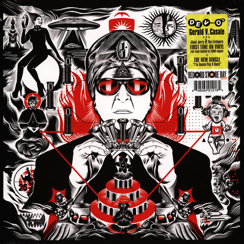 Gerald V Casale - Jihad Jerry & The Evildoers Red Record Store Day 2021 Edition