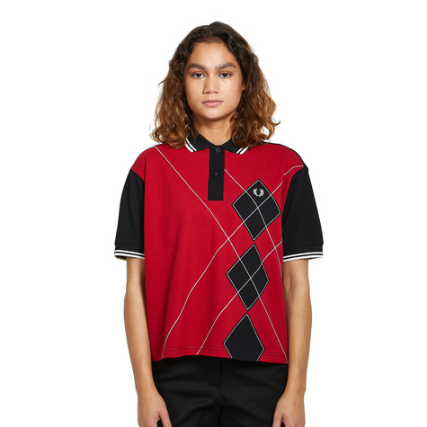 Fred Perry - Harlequin Applique Polo Shirt
