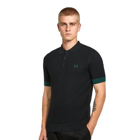 Fred Perry - Contrast Trim Knitted Shirt