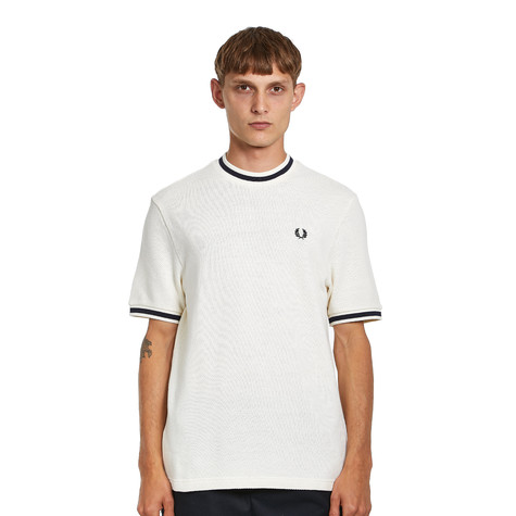 Fred Perry - Textured Pique T-Shirt