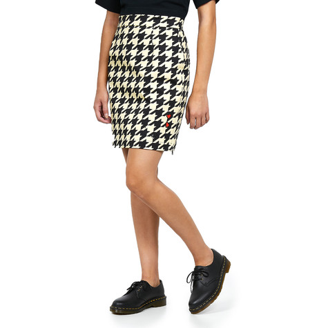 Fred Perry x Amy Winehouse Foundation - Houndstooth Pencil Skirt