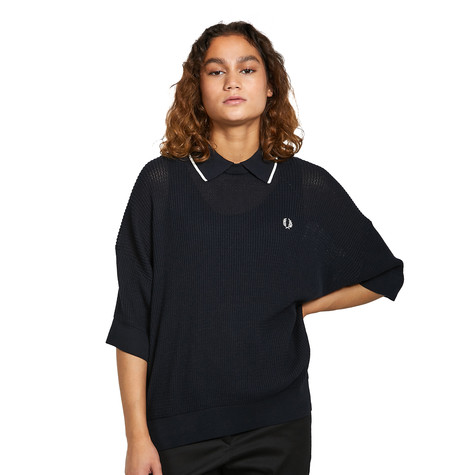 Fred Perry - Tipped Collar Knitted Shirt
