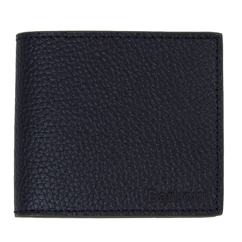 Barbour - Grain Leather Billfold Coin Wallet