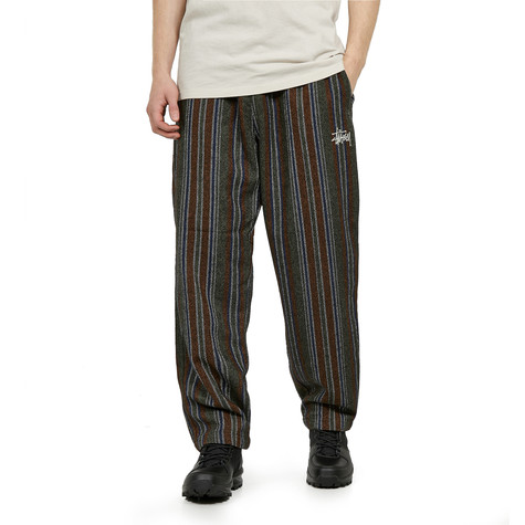 Stüssy - Wool Stripe Relaxed Pant