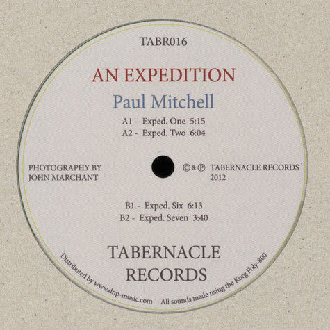 Paul Mitchell - An Expedition