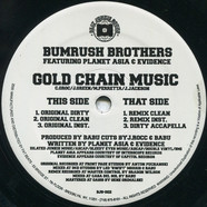 Bumrush Bros. - Gold Chain Music