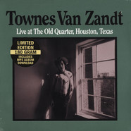 Townes Van Zandt - Live at the Old Quarter Black Vinyl Edition