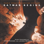 Hans Zimmer & James Newton Howard - OST Batman Begins Colored Vinyl Version