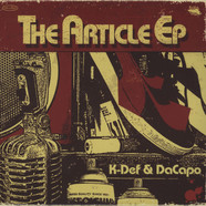 K-Def & DaCapo - The Article EP Expanded CD Version