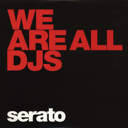 Serato - Control Vinyl Performance Series BLACK We are All DJs
