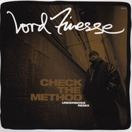 Lord Finesse - Check The Method Underboss Remix Black Vinyl Edition