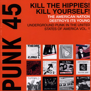 V.A. - Punk 45: Kill The Hippies! Kill Yourself! The American Nation Destroys Its Young. Underground Punk in the United States of America, Vol. 1. 1973-1980
