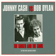 Johnny Cash Vs. Bob Dylan - The Singer & The Song Red Vinyl