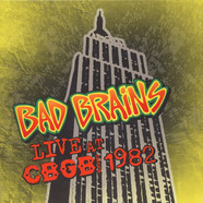 Bad Brains - Live At CBGB Special Clear Vinyl Edition
