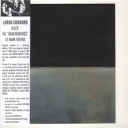 Loren Connors - Blues: The Dark Paintings Of Mark Rothko