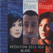 Kieslowski / Zbigniew Preisner - OST 3 Colors: The Trilogy Blue - White - Red