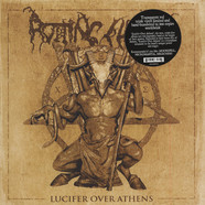 Rotting Christ - Lucifer Over Athens Red Vinyl Edition