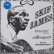 Skip James - Greatest Of The Delta Blues Singers Blue Vinyl Edition