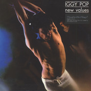 Iggy Pop - New Values Black Vinyl Edition