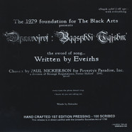 1979 Foundation For The Black Arts - Eveirhs
