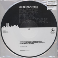 John Carpenter - OST Halloween / Escape From New York Picture Disc Edition