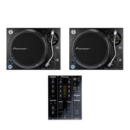 Pioneer DJ - DJ Set (2x PLX-1000 Turntable | 1x DJM-350 Mixer) Bundle