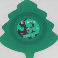 Elvis Presley - Santa Claus Is Back In Town Green Tree Shaped Vinyl Edition