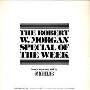George Benson - The Robert W. Morgan Special Of The Week