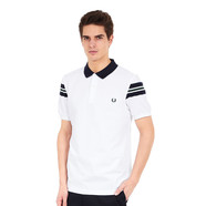 Fred Perry - Bomber Sleeve Pique Polo Shirt