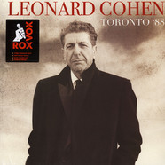 Leonard Cohen - Toronto '88 Colored Vinyl Edition