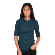 Lacoste L!VE - L!VE Stretch 2X2 Rib Polo Shirt