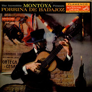 Carlos Montoya Presents Porrina De Badajoz - The Incredible Montoya Presents Porrina De Badajoz
