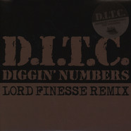 D.I.T.C. - Diggin' Numbers Ink Stamped Test Press