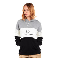Fred Perry - Embroidered Panel Hooded Sweatshirt