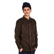 Barbour x Wood Wood - Fidra Cord Overshirt