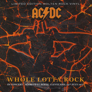 AC/DC - Whole Lotta Rock - Live In Concert - Agora Ballroom Cleveland 22nd July 1977 - Molten Rock Vinyl Edition