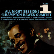 Hampton Hawes Quartet - All Night Session, Vol. 1