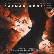 Hans Zimmer & James Newton Howard - OST Batman Begins Colored Vinyl Edition