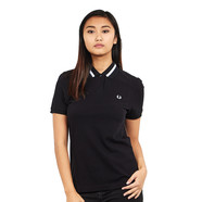 Fred Perry - Grosgrain Trim Pique Shirt