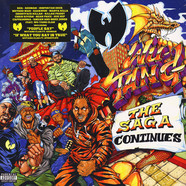 Wu-Tang Clan - The Saga Continues Orange Vinyl Edition