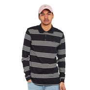 Le Fix - BO Stripe Polo LS
