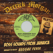Derrick Morgan & George Decker / The Visions - Ben Johnson Day / Gleeful