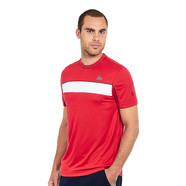 Lacoste - Run Resistant Ultra Dry Pique Knit T-Shirt