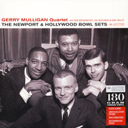 Gerry Mulligan Quartet with Bob Brookmeyer, Joe Benjamin & Dave Bailey - The Newport & Hollywood Bowl Sets