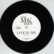 Mr. K - Live In Me / Warm Weather Edits By Mr. K