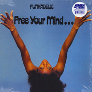 Funkadelic - Free Your Mind And Your Ass Will Follow Blue Starburst Vinyl Edition