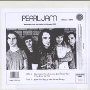 Pearl Jam - FM Live - 1992 (Recorded Live for Radio in Chicago 1992)