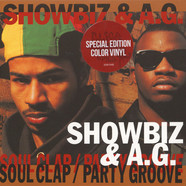 Showbiz & AG - Soul Clap / Party Groove Instrumental Colored Vinyl Edition