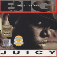 Notorious B.I.G. - Juicy Clear & Black Marble Swirl Vinyl Edition